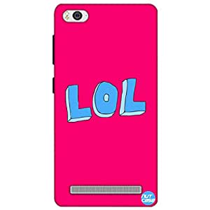 Designer Xiaomi Mi4i Case Cover Nutcase -LOL