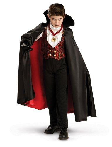 Spirit Boys' Transylvania Vampire Deluxe Child Costume Large front-511996