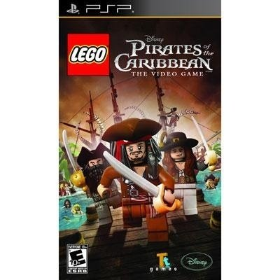 New Disney Interactive Lego Pirates Of The Caribbean Action Adventure Game Retail Supports Psp