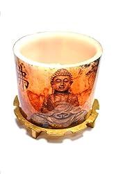 Buddha Glow Candle