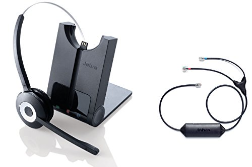 Avaya certified Jabra Cordless Headset | PRO 920 Avaya Bundle | Electronic Remote Answerer included | Avaya Compatible VoiP phones: 1408, 1416, 9404, 9406, 9408, 9504, 9508 (Remote Telephones compare prices)