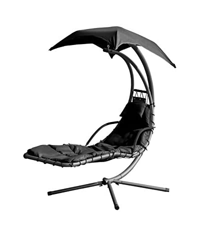 Suntime Helicopter Swing Steel Lounge, Black
