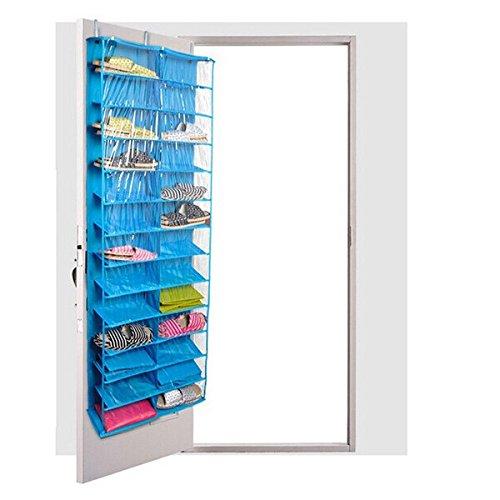 Pixnor Over The Door Hanging Shelf Shoe OrganizersShoe Storage Rack