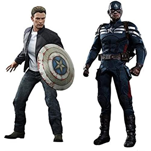 Captain America Winter Soldier 1/6 Scale Captain America Stealth S.T.R.I.K.E. Suit Captain America: The Winter Soldier Figures [병행수입품]
