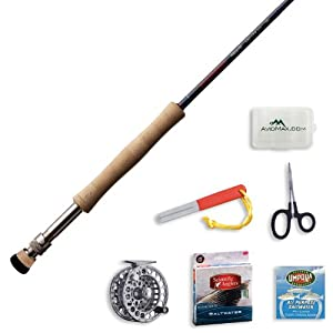 Redington Predator Fly Fishing Rod and Delta Reel Outfit-7wt 9ft 4pc (790-4) by Redington