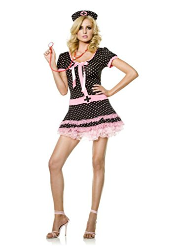 Seven Til Midnight Womens Medic After Hours Nurse Party Dress Sexy Costume