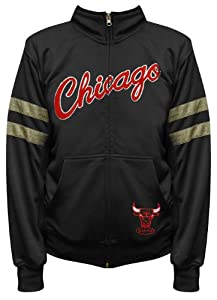 NBA Exclusive Collection Chicago Bulls Youth Track Jacket by Majestic