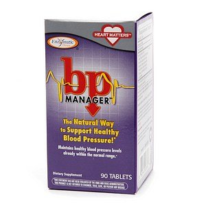 Enzymatic Therapy - Bp Manager, 90 Tablets