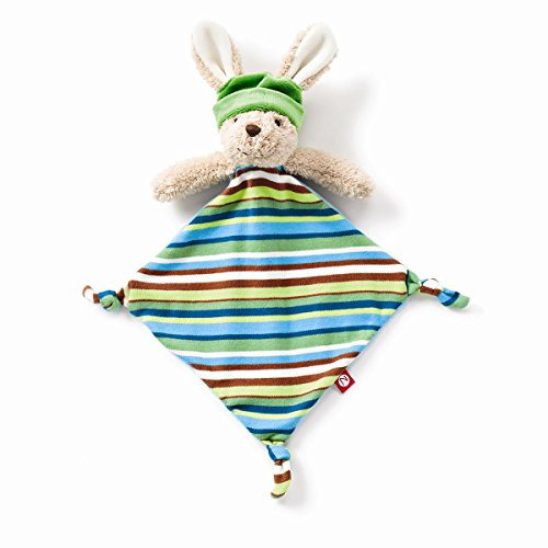 Zutano Plush Blankie, Hip Hoppy Boy
