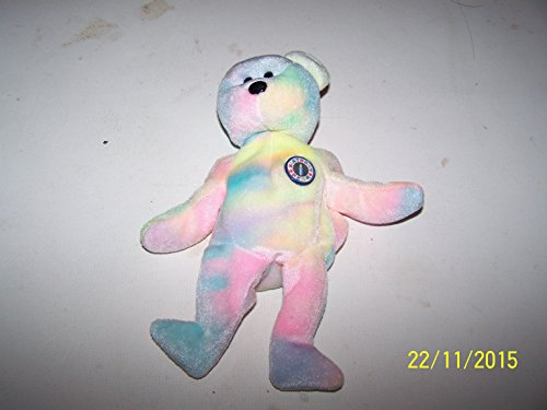 1 X Ty Beanie Buddies - B.B. the Birthday Bear - 1