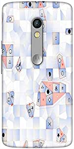 Snoogg Steps And Sounds Designer Protective Back Case Cover For Motorola Moto X Play