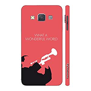 Enthopia Designer Hardshell Case Louis Armstrong Back Cover for Samsung Galaxy A5 2015