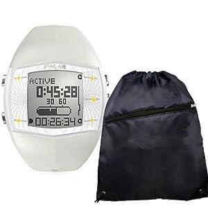 Polar FA20 Activity Computer Watch 90033724 Female White with FREE Polar Cinch Bag