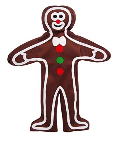 Forum Novelties Men's Gingerbread Man Adult Costume, Multi, One Size