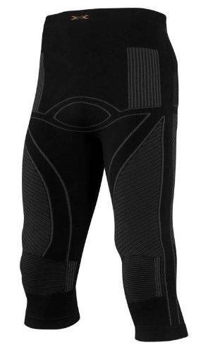 X-Bionic Herren Funktionsunterwäsche ENERGY ACCUMULATOR PANT medium, mittellange Hose black/anthracite Gr.S/M (44-48)