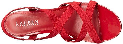 Lauren Ralph Lauren Women's Rikki Wedge Sandal lauren groff moirad ja fuuriad