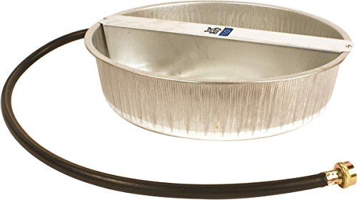 Miller PW13 Ever Full Galvanized Pet Waterer, 3.25 gallon (Galvanized Waterer compare prices)