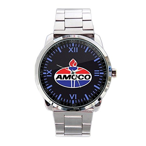 paper-priinted-wrist-watches-xwds548-new-limited-edition-amoco-logo-emblem-sport-metal-watch
