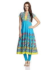 Good Things Women's Cotton Anarkali Kurta - B00N1V1PYA