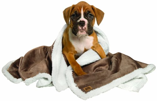 Animal Planet Sherpa Pet Blanket, Pewter