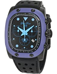 Glam Rock Unisex GR70107 Gulfstream Collection Chronograph Black Silicon Watch