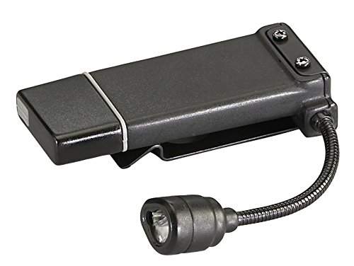 Streamlight Clipmate Usb Rechargeable Clip-On Light With 120V Ac Adaptor And Black/White/Red Led