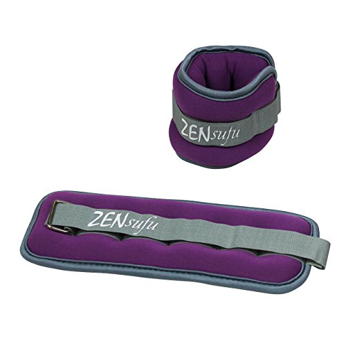 Zensufu-Ankle-or-Wrist-Weights-Pair-Set-with-Adjustable-Strap