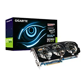 GIGABYTE GV-N670OC-2GD GeForce GTX 670 Windforce OC 2048MB GDDR5 256-bit PCI Express 3.0 x16 HDCP Ready SLI Support Graphics Card