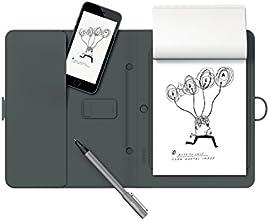 WACOM Bamboo Spark - Smart Folio connecté avec Porte-accessoires pour tout smartphone / iPhone - Noir