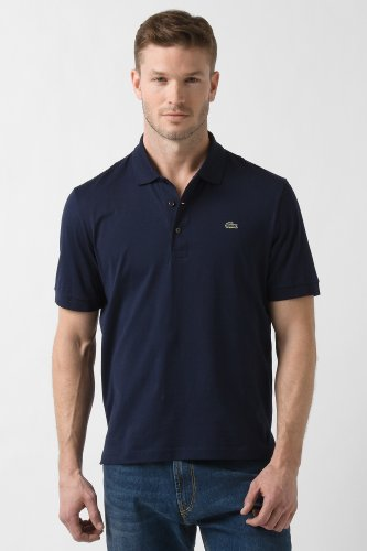 Short Sleeve Classic Fit Solid Pima Jersey Polo