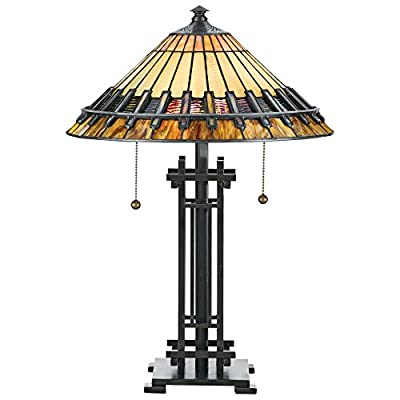 Quoizel Chastain TF489T Tiffany Desk Lamp
