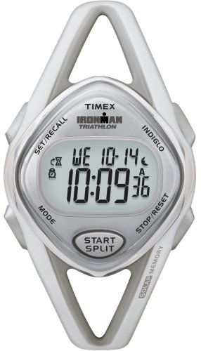 Timex Women's T5K026 Ironman Sleek Digital Resin Strap Watch