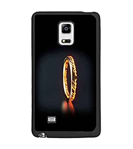 PrintDhaba Ring D-2355 Back Case Cover for SAMSUNG GALAXY NOTE EDGE (Multi-Coloured)