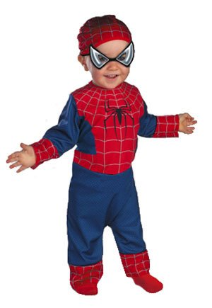 Baby Spiderman Costume Size 3-12 Months