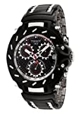 TISSOT Watch:Men's T-Race Chronograph Black Ion Plated Stainless Steel