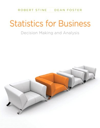Statistics for Business: Decision Making and Analysis