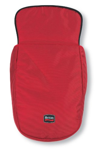 Britax B-Ready And B-Scene Boot Cover, Red front-664536