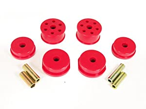Prothane 13-1903 Red Motor and Transmission Mount Insert Kit