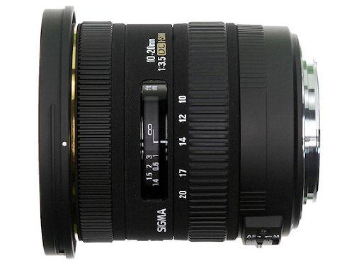 Sigma 10-20mm f3.5 EX DC HSM Lens for Nikon Digital SLR Cameras with APS-C Sensors
