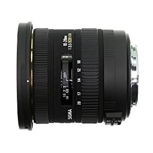 Sigma 10-20mm f/3.5 EX DC HSM ELD SLD Aspherical Super Wide Angle Lens for Nikon Digital SLR Cameras