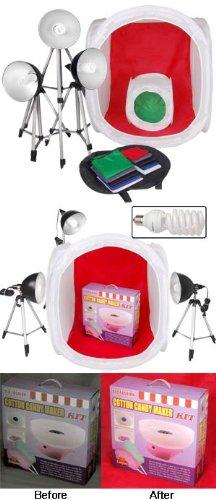 "Professional 14"" & 30"" Photo Boxes Light Tent Kit"