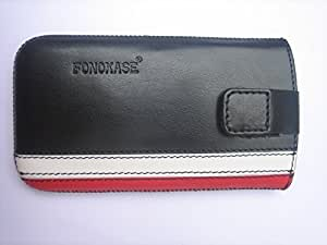 Fonokase Universal Pull Out Pouch Black / Red - M