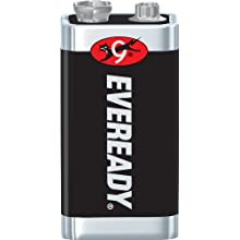Energizer Eveready Super Heavy Duty Battery, 9 Volt Size (Pack of 18)