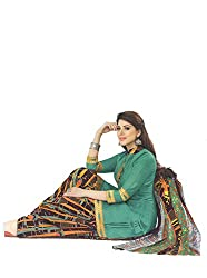 Brinda Creation New Summer Collection Women's Cotton Patiyala Unstitched Dress material (FE00027_Multi-coloured)