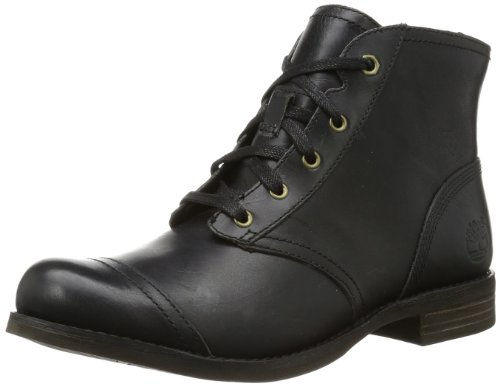 Timberland Womens EK Savin Hill Lace Chukka Boots C8058A Black 4 UK, 37 EU, 6 US, Wide