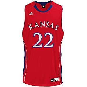 adidas Kansas Jayhawks Men's Replica Basketball Jersey Large