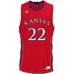 Buy adidas Kansas Jayhawks Mens Replica Basketball Jersey Extra Large by adidas