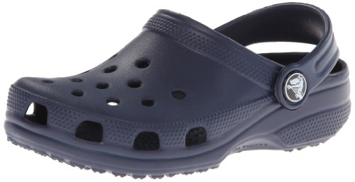 Crocs Kids Classic Clog 10006, Navy, 8-9 M Us Toddler front-215635