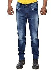 Karya Men Dark Blue Slim Fit High Fashion Jeans - B012X5RV8I