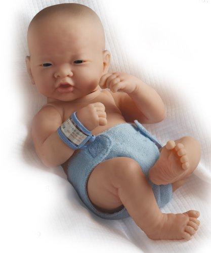Jc Toys La Newborn Asian- Real Boy